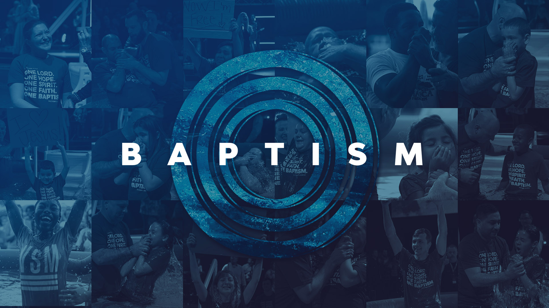 OKC Baptism at Victory Church