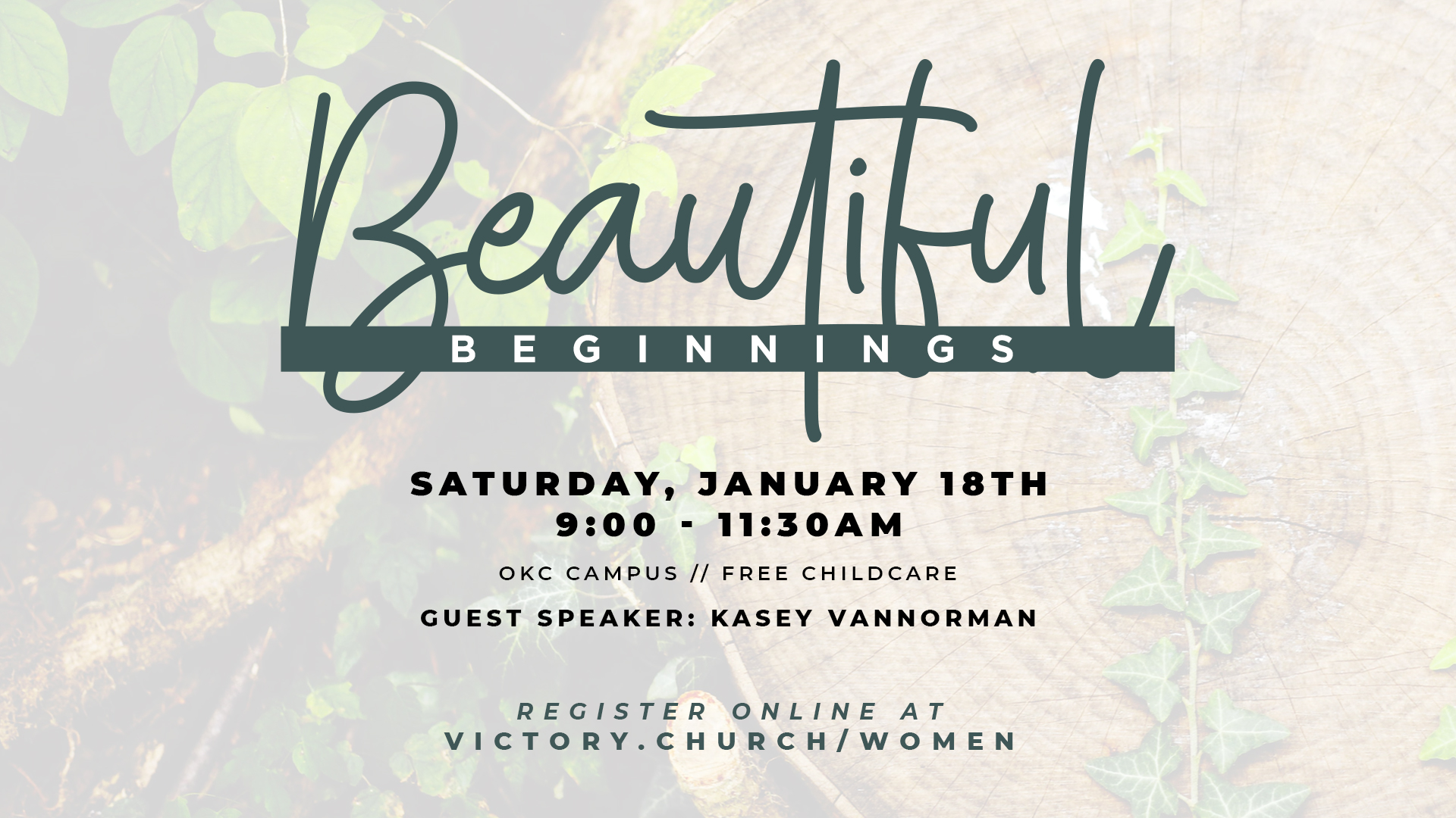 Beautiful Beginnings 2020 at Victory Church