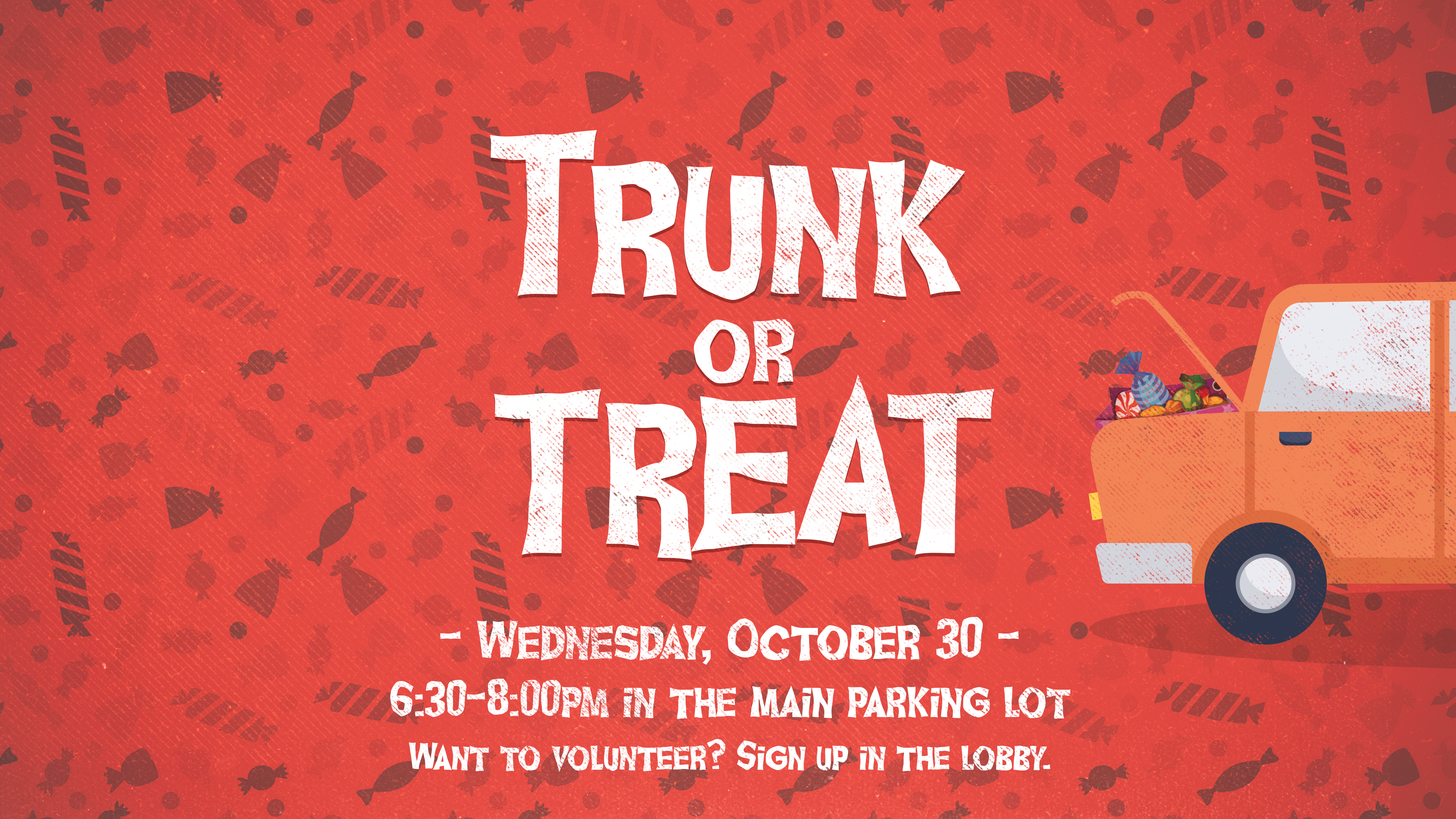 OKC | Trunk or Treat Volunteer Sign Up at Victory Church