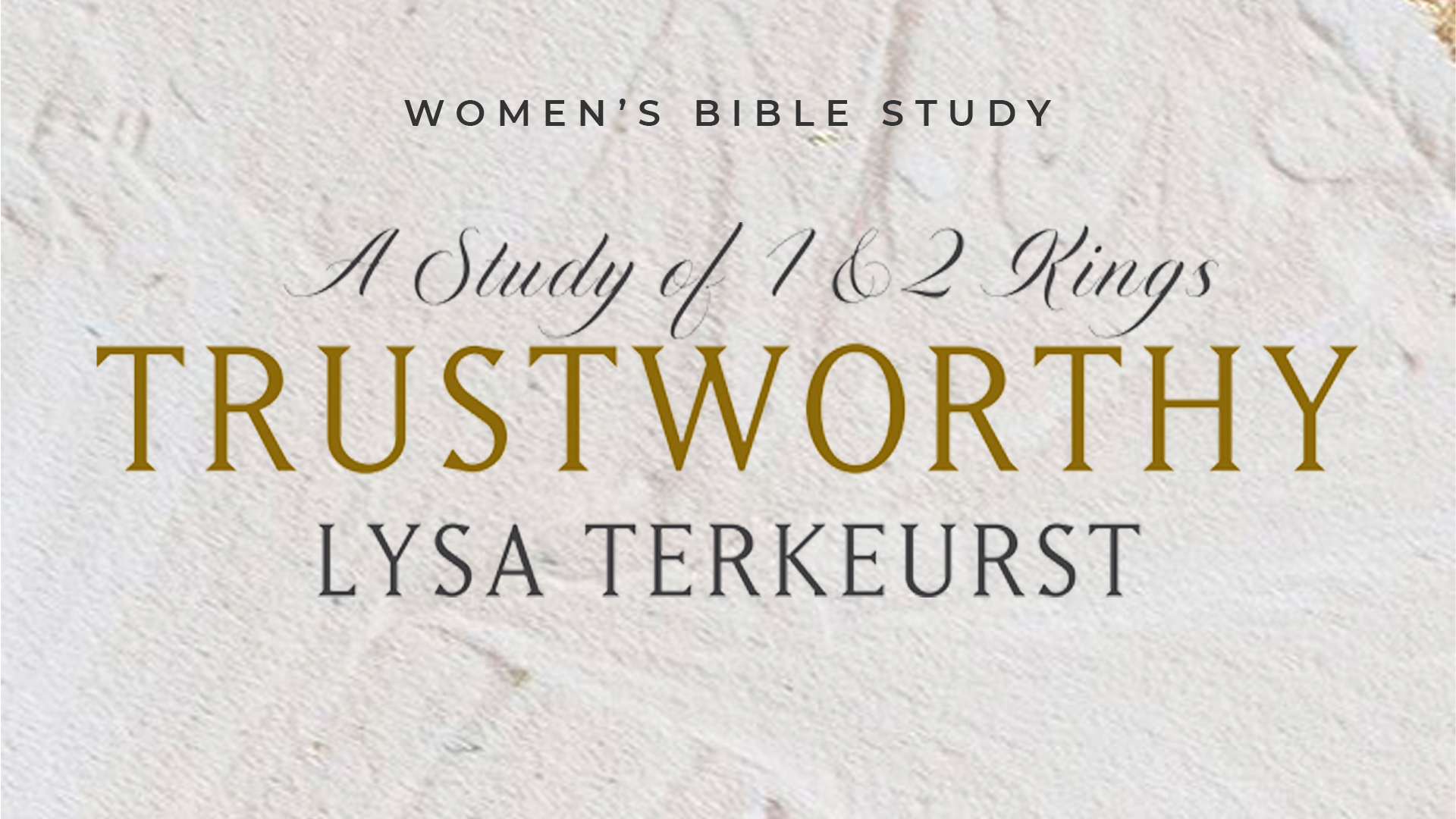 OKC | Women's Bible Study at Victory Church